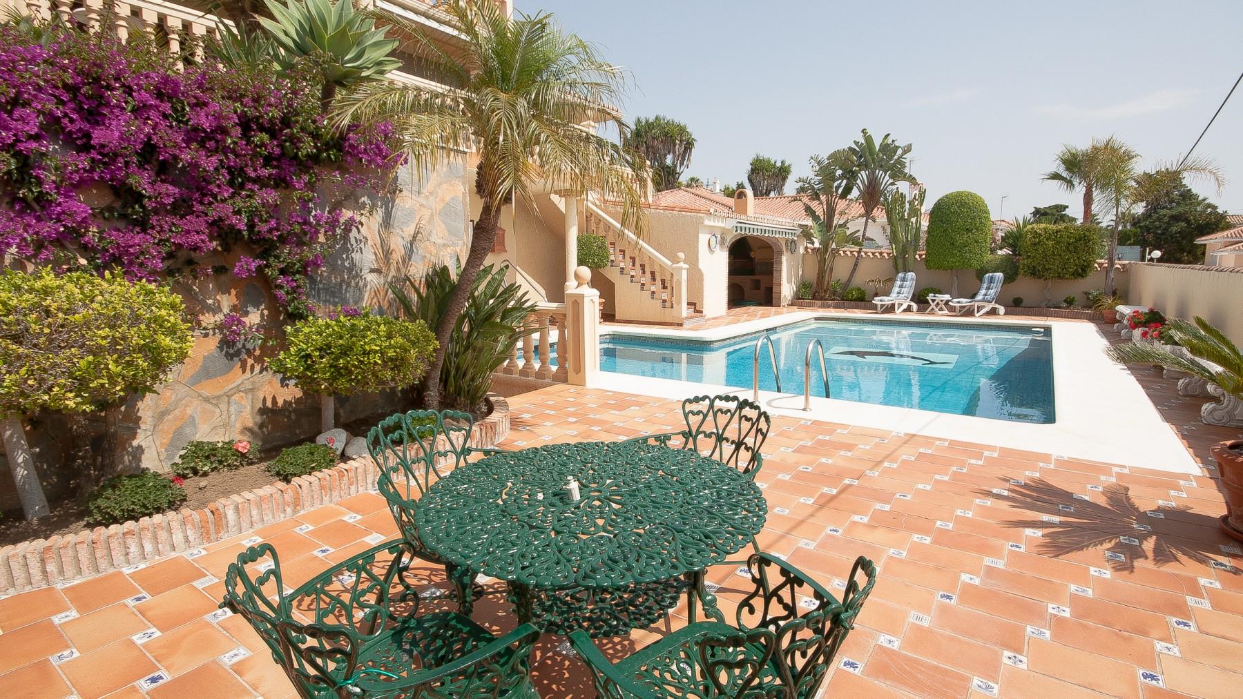 Villas in manilva jardin tropical for Jardin tropical